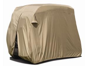 Fairway Golf Car Storage Cover in Tan