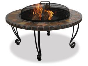 34-inch Outdoor Fire Pit with Mesh Cover