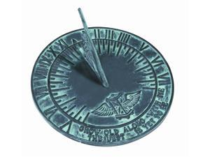 Sundial with Cast Iron