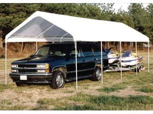 Extra Long Canopy w Steel Frame Support