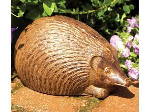 Aluminum Hedgehog Garden Figurine