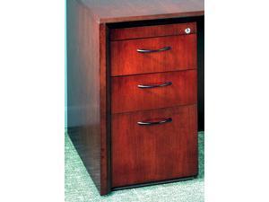 27 in. Credenza File Pedestal (Golden Cherry)