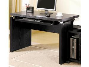Peel Computer Desk in Black Finish