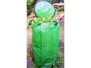 Garden Waste Recycler Cylinder w Lid & Air Vents