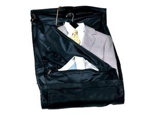 Carry-On Suit Garment Bag in Nappa Cowhide Leather (Black)
