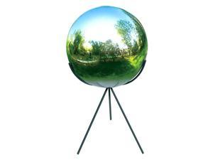 Tri-Pod Globe Pedestal - Iron w Black Powdercoat Finish