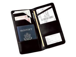 Travel Document Wallet (Black)