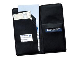 Oversized Leather Travel Wallet