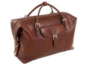 Duffel Bag w Magnetic Snap - Amore (Cognac)