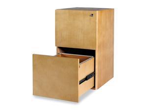 File Cabinet in Maple Finish