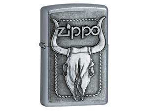 Bull Skull Windproof Lighter