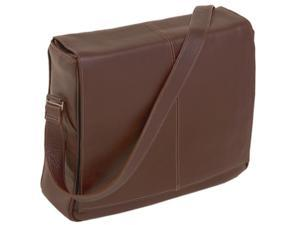 Messenger Bag w Magnetic Snaps - San Francesco (Cognac)