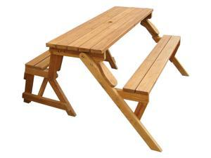 Interchangeable Picnic Table/Garden Bench