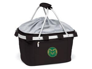Metro Embroidered Basket in Black - Colorado State Rams