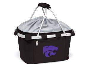 Metro Digital Print Basket in Black - Kansas State Wildcats