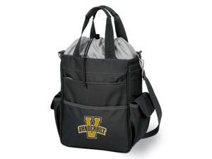 Activo Digital Print Tote in Black - Vanderbilt University Commodores