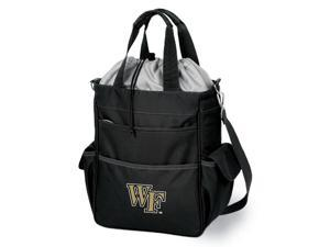 Activo Digital Print Tote in Black - Wake Forest Demon Deacons