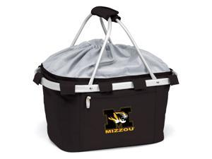 Metro Embroidered Basket in Black - University of Missouri Tigers