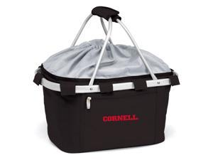 Metro Embroidered Basket in Black - Cornell University Bears