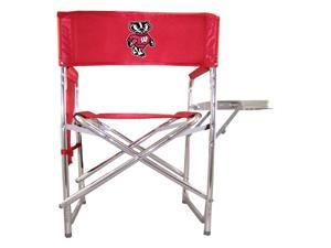 Digital Print Sports Chair in Red - University of Wisconsin Badgers