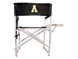 Embroidered Sports Chair in Black - Appalachian State Mountaineers