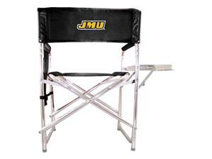 Embroidered Sports Chair in Black - James Madison University Dukes