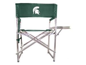 Embroidered Sports Chair in Hunter Green - Michigan State Spartans