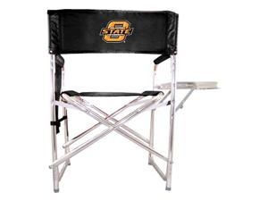 Digital Print Sports Chair in Black - Oklahoma State Cowboys
