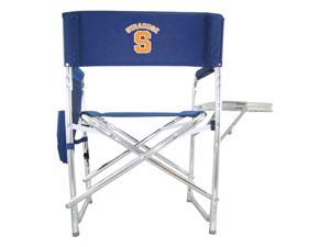 Embroidered Sports Chair in Navy - Syracuse University Orange