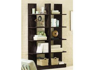Taylor Reversible Bookcase in Java Black Finish