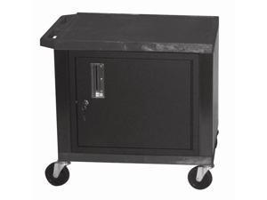 Tuffy Cart w Casters in Black