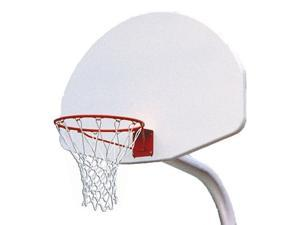 Unbraced Front Mount Hoop System in White