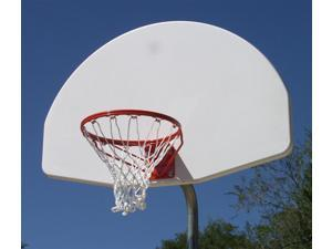 Bent Post Aluminum Basketball Backstop