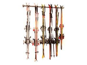 Wall Ski Rack (Holds 6 Pair)