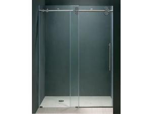 60 in. Frameless Shower Door