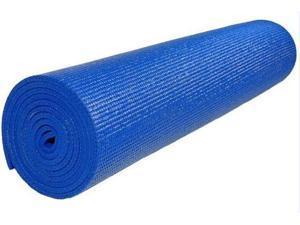 Extra Thick Pilates Non-Slip Yoga Mat in Blue (Orange)