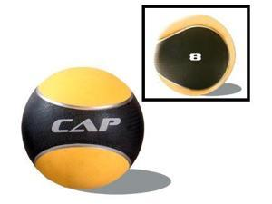 CAP Definity 8 lbs. Medicine Ball in Yellow