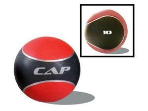 CAP Definity 10 lbs. Medicine Ball in Red