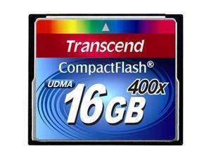 Transcend CompactFlash (CF) Card 16 GB - 400x