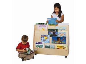 Kid's Play Double Sided Book Display Unit (Natural)