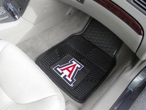 University of Arizona Heavy Duty Vinyl Car Mats - Set of 2