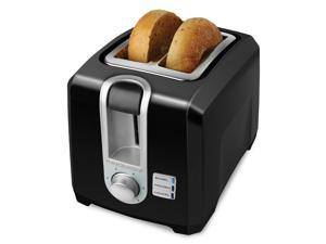 Black and Decker 2-Slice Toaster in Black