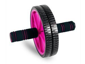 Tone Fitness Toning Wheel in Black & Pink