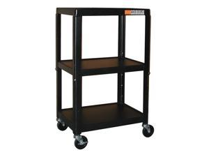Adjustable Multi-Function Carts in Black Powder Coated Finish (26 in. - 40 in.)