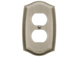 Colonial Double Outlet Residential Cover Plate - 4757.150.CD (Polished Brass)