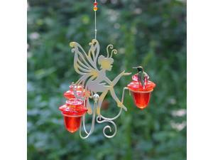 Fairy Dust Hummingbird Feeder with 3 Nectar Feeding Ports