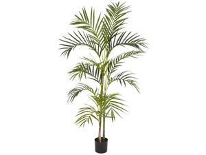 4 ft. Areca Palm Silk Tree