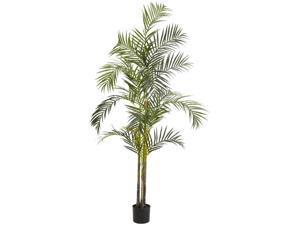 7 ft. Areca Palm Silk Tree