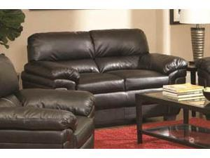 Fenmore Loveseat in Dark Brown