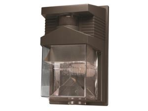 180-Degree Halogen Motion Activated Entryway Security Light in Bronze